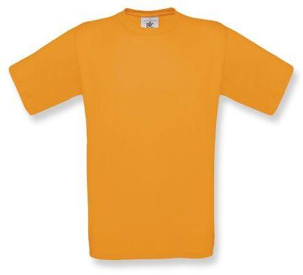 EXACT unisex tričko, 145 g/m2, BC, hnědo-oranžová