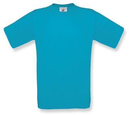 EXACT unisex tričko, 145 g/m2, BC, atolově modrá