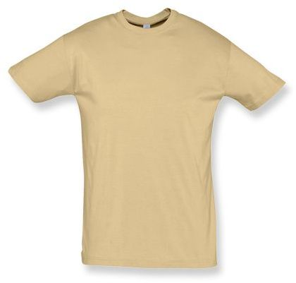 REGENT unisex tričko 150 g/m2, SOLS, béžová