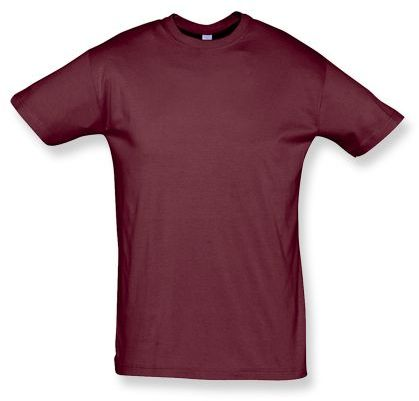 REGENT unisex tričko 150 g/m2, SOLS, bordó