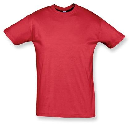 REGENT unisex tričko 150 g/m2, SOLS, červená