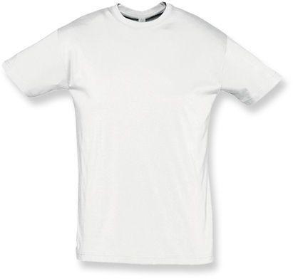 REGENT unisex tričko 150 g/m2, SOLS, bílá