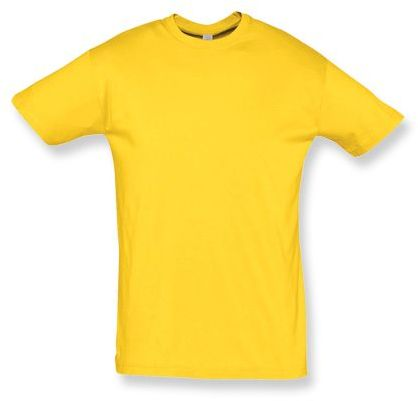 REGENT unisex tričko 150 g/m2, SOLS, žlutá