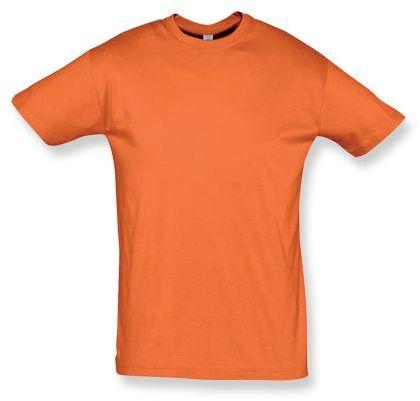 REGENT unisex tričko 150 g/m2, SOLS, oranžová