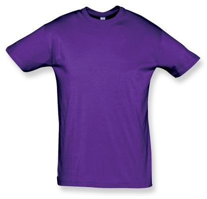 REGENT unisex tričko 150 g/m2, SOLS, tmavě fialová
