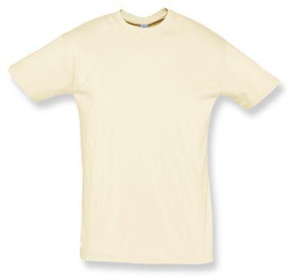 REGENT unisex tričko 150 g/m2, SOLS, přírodní