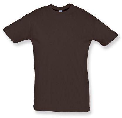 REGENT unisex tričko 150 g/m2, SOLS, hnědá