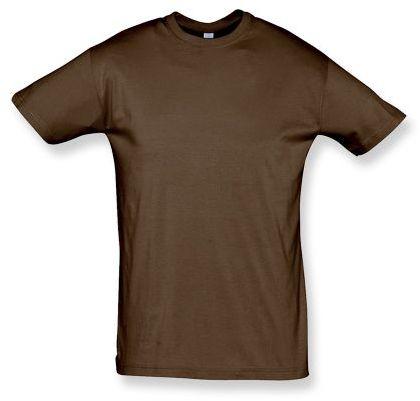 REGENT unisex tričko 150 g/m2, SOLS, světle hnědá
