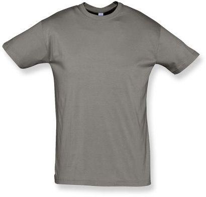 REGENT unisex tričko 150 g/m2, SOLS, šedozelená