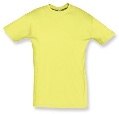 REGENT unisex tričko 150 g/m2, SOLS, světle žlutá