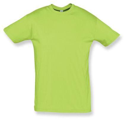 REGENT unisex tričko 150 g/m2, SOLS, světle zelená