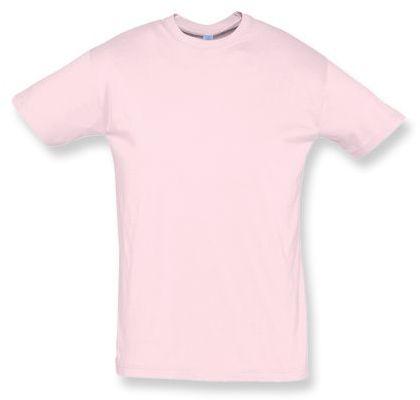 REGENT unisex tričko 150 g/m2, SOLS, světle růžová