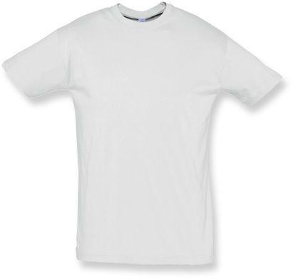 REGENT unisex tričko 150 g/m2, SOLS, světle šedý melír
