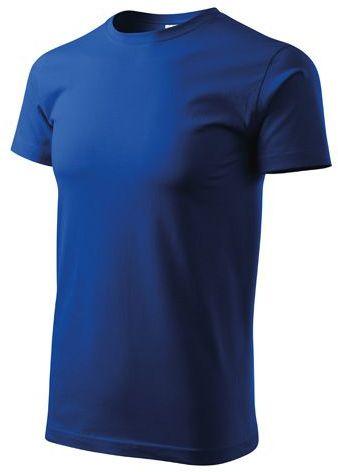 BASIC T-160 unisex tričko 160 g/m2, ADLER, modrá