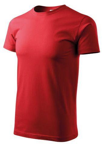 BASIC T-160 unisex tričko 160 g/m2, ADLER, červená