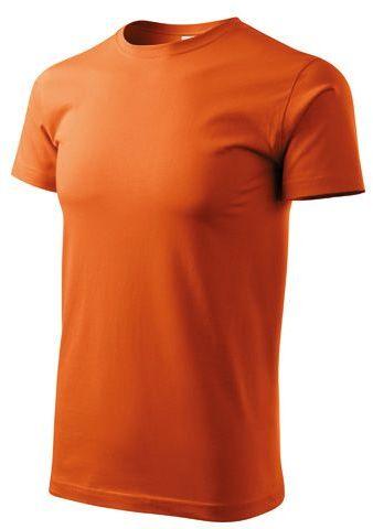 BASIC T-160 unisex tričko 160 g/m2, ADLER, oranžová