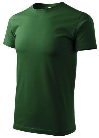 BASIC T-160 unisex tričko 160 g/m2, ADLER, zelená