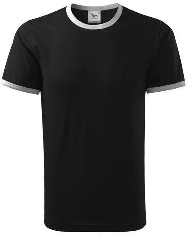 INFINITY T-180 unisex tričko 180 g/m2, ADLER, černá