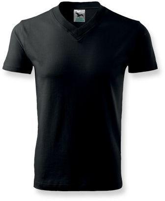 LUKA unisex tričko 160 g/m2, ADLER, černá