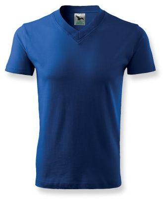 LUKA unisex tričko 160 g/m2, ADLER, modrá