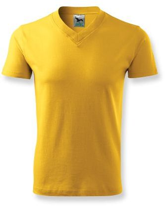 LUKA unisex tričko 160 g/m2, ADLER, žlutá