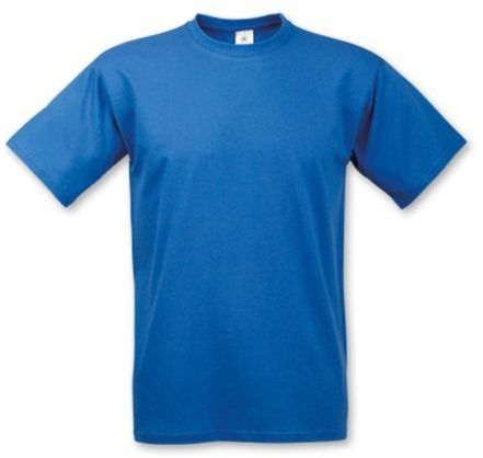 EXACT 190 unisex tričko, 190 g/m2, BC, modrá