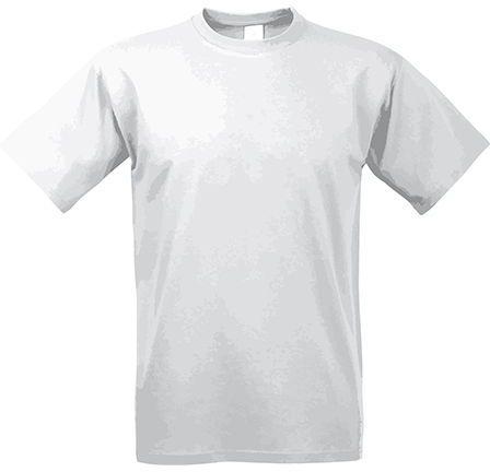 EXACT 190 unisex tričko, 190 g/m2, BC, bílá