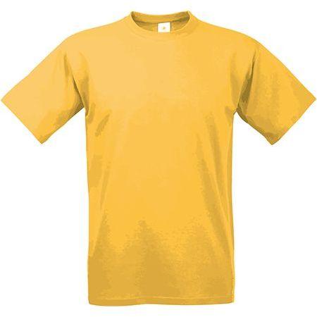 EXACT 190 unisex tričko, 190 g/m2, BC, žlutá