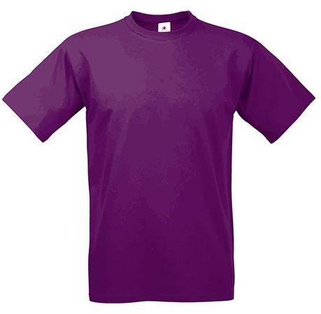 EXACT 190 unisex tričko, 190 g/m2, BC, fialová
