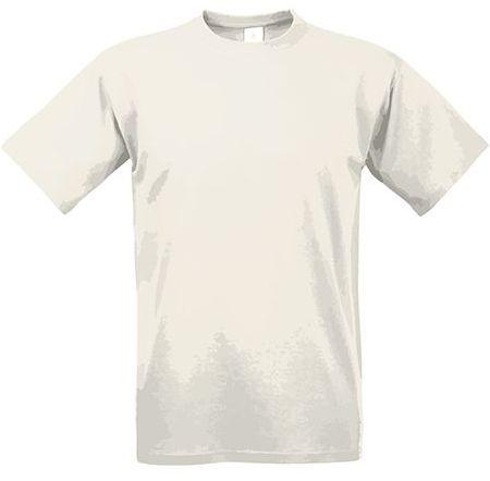 EXACT 190 unisex tričko, 190 g/m2, BC, přírodní