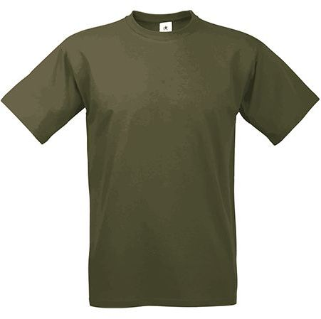EXACT 190 unisex tričko, 190 g/m2, BC, khaki