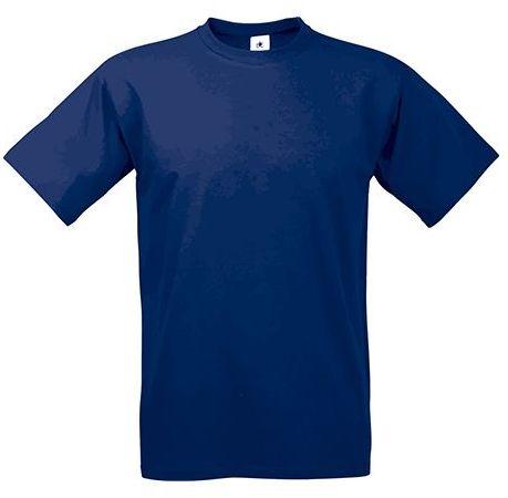EXACT 190 unisex tričko, 190 g/m2, BC, tmavě modrá