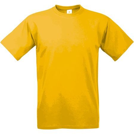 EXACT 190 unisex tričko, 190 g/m2, BC, tmavě žlutá