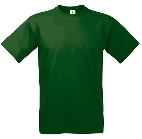 EXACT 190 unisex tričko, 190 g/m2, BC, tmavě zelená