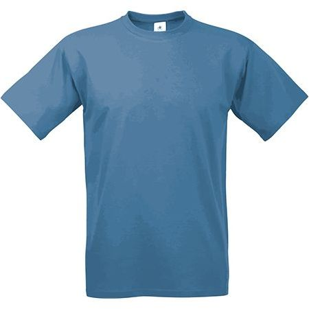 EXACT 190 unisex tričko, 190 g/m2, BC, modrošedá