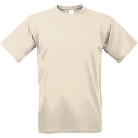 EXACT 190 unisex tričko, 190 g/m2, BC, béžová