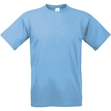 EXACT 190 unisex tričko, 190 g/m2, BC, světle modrá