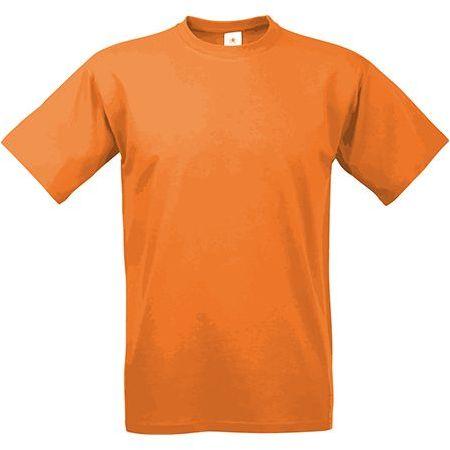 EXACT 190 unisex tričko, 190 g/m2, BC, oranžová