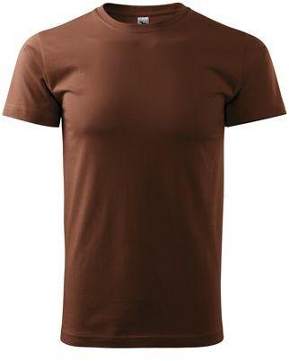 SHIRTY unisex tričko, 200 g/m2, ADLER, hnědá