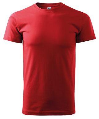 SHIRTY unisex tričko, 200 g/m2, ADLER, červená
