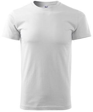 SHIRTY unisex tričko, 200 g/m2, ADLER, bílá