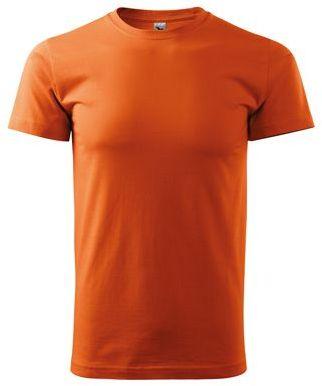 SHIRTY unisex tričko, 200 g/m2, ADLER, oranžová