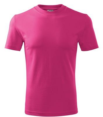 SHIRTY unisex tričko, 200 g/m2, ADLER, růžová