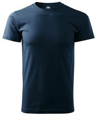 SHIRTY unisex tričko, 200 g/m2, ADLER, tmavě námořnická mod