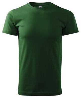 SHIRTY unisex tričko, 200 g/m2, ADLER, tmavě zelená