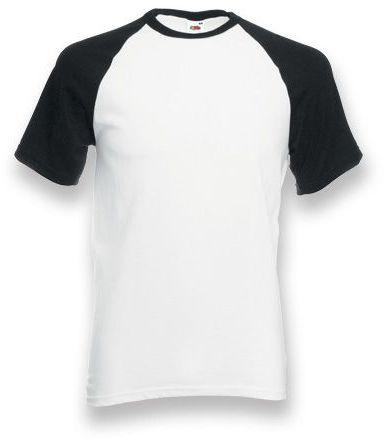 DOUBLER unisex tričko, 165 g/m2, FRUIT OF THE LOOM, černá