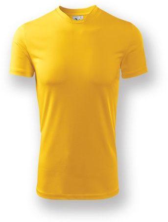 NEONY pánské tričko, 150 g/m2, ADLER, tmavě žlutá
