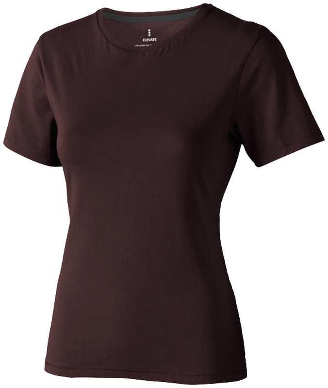 Nanaimo dámské triko hnědé