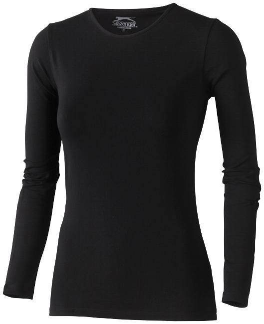 Carve černé dámské triko s dlouhým rukávem