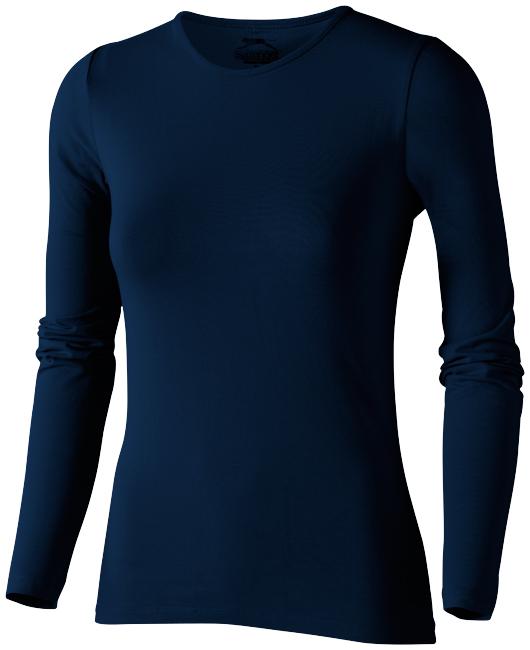 Carve tmavě modré dámské triko s dlouhým rukávem